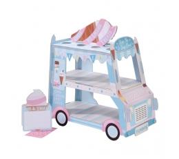"""Saldumu statīvs ar trauciņiem """"Saldējuma mašīna"""""""