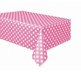 Galdauts, rozā punktains (137x274 cm)