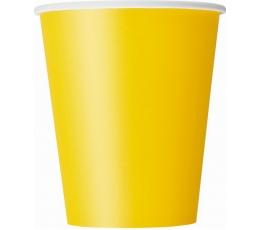 Glāzītes, dzeltenas (8 gab/266 ml)