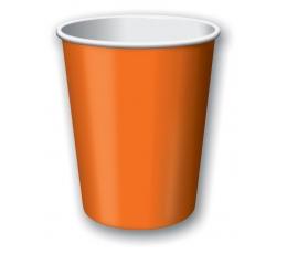 Glāzītes, oranžas (8 gab/266 ml)