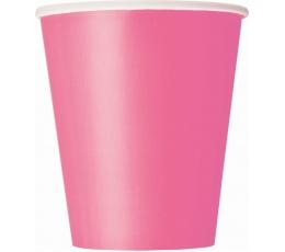 Glāzītes, rozā (8 gab/266 ml)