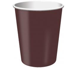 Glāzītes, brūnas (24 gab/266 ml)
