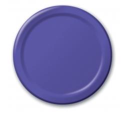 Šķīvīši, violeti (8 gab/22 cm)
