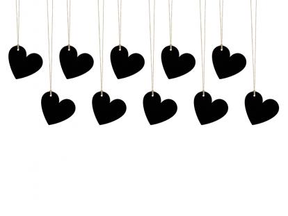 Novelējumu kartiņas, krītpapīra sirsniņas (10 gab)