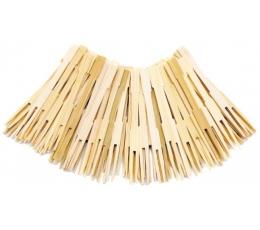 Bambusa dakšiņas-irbulīši (70 gab)