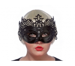 Domino maska, melna (1gab)