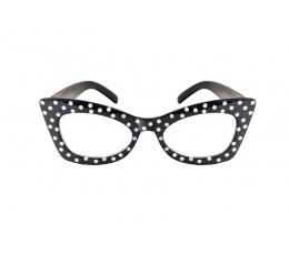 Svetku brilles, melnas