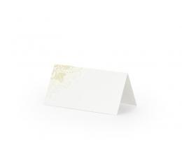 """Galda-vārdu kartes """"Zelta ornamenti"""" (25 gab)"""