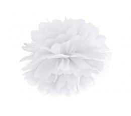 Papīra bumba, balts (35 cm)