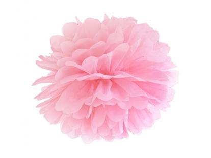 Pūkainis, gaiši rozā (35 cm)