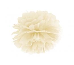 Papīra bumba, krēmkrāsas  (35 cm)
