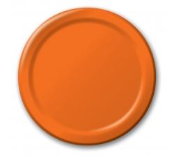 Šķīvīši, oranži (8 gab/17 cm)