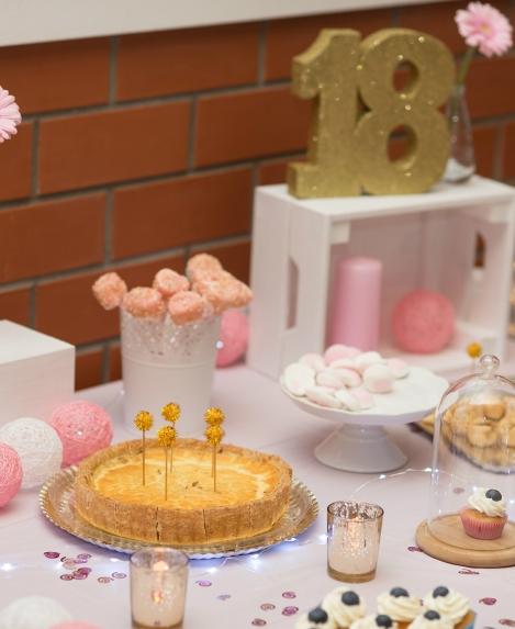 Misija pink & gold - izpildīta! rozā un zelta dekorācijas