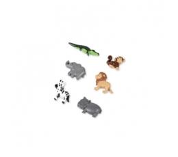 """3D uzlīmes """"Džungļu iemītnieki"""" (6 gab/ 3,5 cm)"""