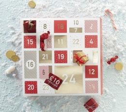 "Adventes kalendārs ""Sarkanās kastītes""  1"