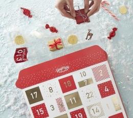 "Adventes kalendārs ""Sarkanās kastītes""  2"