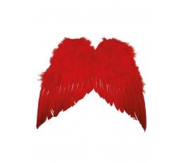 Eņģeļa spārni, sarkani (35 cm)