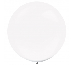 Balons, caurspīdīgs - apaļš (61 cm)