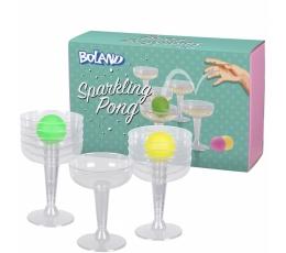 "Ballīšu spēle ""Glāžu Ping-pongs"""