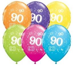 "Baloni ""90"", krāsaini (6 gab. / 28 cm)"