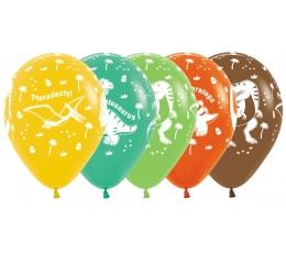 "Baloni ""Dinozauri"" (25 gab./30 cm)"
