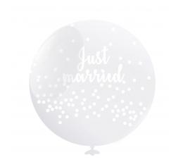 "Baloni ""Just Married"" (6 gab./50 cm)"