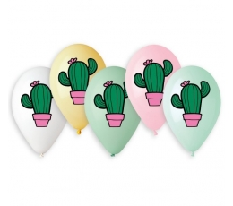 "Baloni ""Kaktusi"" / krāsaini (10 gab. / 33 cm)"