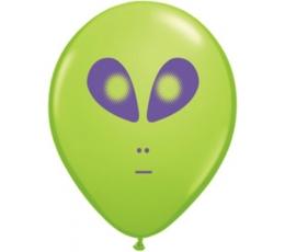 """Baloni """"Nopietnais Ufo"""" / zaļš (100 gab./28 cm Q11)"""