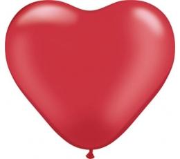 "Baloni ""Sarkana sirds"" (100 gab. / 28 cm)"