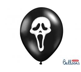 """Baloni, """"Šausmas"""" (6 gab/ 30 cm)"""