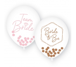 "Baloni ""Team Bride.Bride to be"" (6 gab. 27 cm)"
