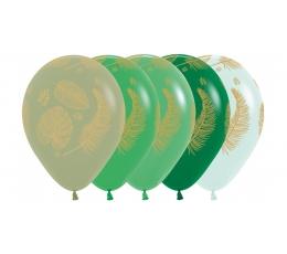 """Baloni """"Tropu lapas"""" (25 gab./30 cm)"""