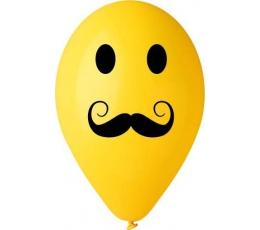 "Baloni ""Ūsas"" / dzelteni (50 gab. / 28 cm)"