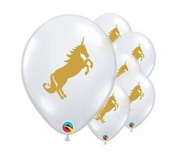 "Baloni ""Vienradzis"" / caurspīdīgi (25 gab. / 28 cm Q11)"