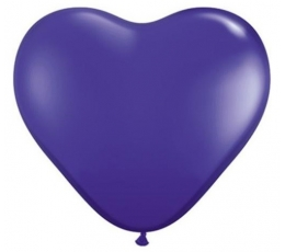 """Baloni """"Violetas sirds"""" (100 gab. / 15 cm)"""