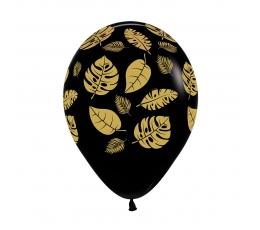 """Baloni """"Zelta tropu lapas"""" (25 gab/ 30 cm)"""