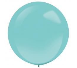 Balons, apaļš tirkīza krāsā  (61 cm)