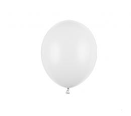 Balons, balts (12 cm)