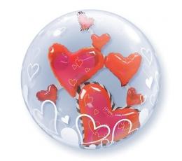 "Balons (bubble) ""Sirdis"" (61 cm)"