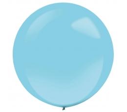 Balons,  gaiši zils - apaļš (61 cm)