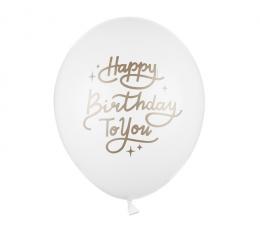"Balons ""Happy Birthday to you"" (30 cm)"