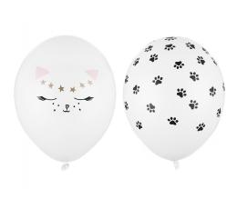 """Balons """"Kaķītis un ķepiņas"""" (30 cm)"""