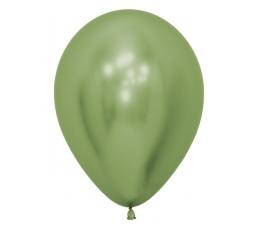 Balons, metalizēts zaļš - chrome  (30 cm)