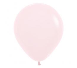 Balons, pasteļrozā  (45 cm)