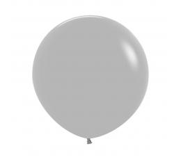 Balons, pelēks -matēts  (90 cm)