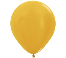 Balons, perlamutra zelta(45 cm)