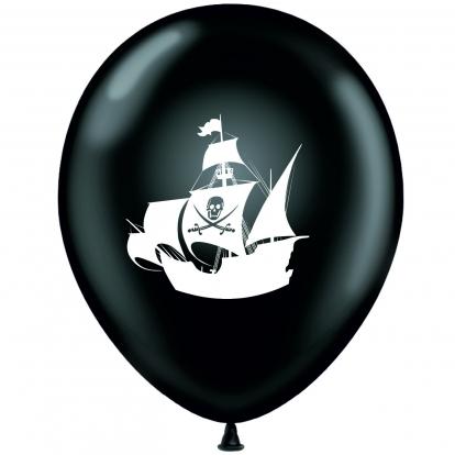 "Balons ""Pirāti-melnbalts"" (30 cm)"