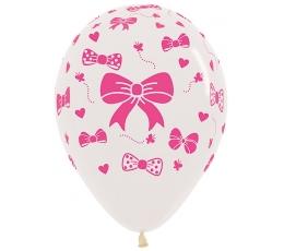 """Balons """"Rozā lentiņa"""" (30 cm)"""