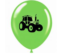 """Balons """"Traktors"""", salātkrāsā (30 cm)"""