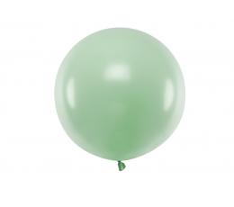 Balons, zaļš - pistāciju krāsā  (60 cm)